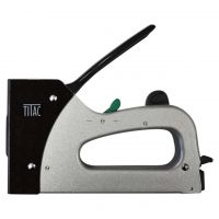 TITAC Handtacker Kunststoff Klammern/T-Nägel Kombinagler TX-38P von 7 - 13 mm | Typ TU & Typ T-9