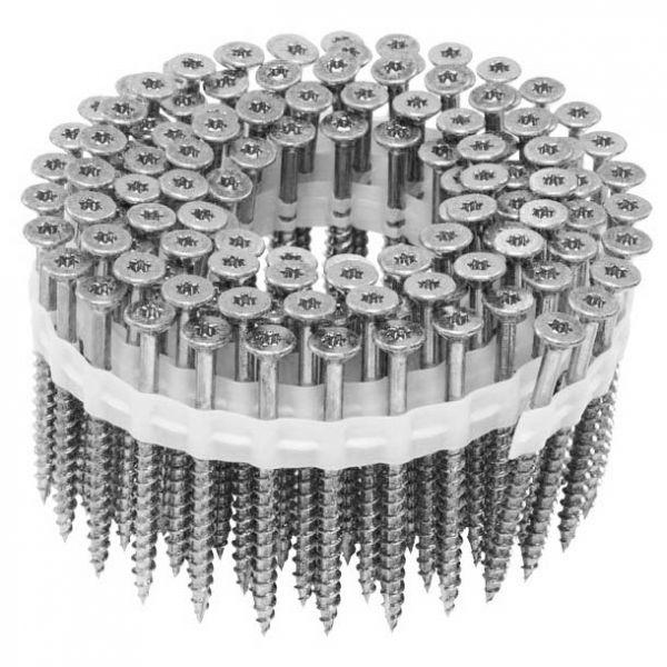 Coil Magazinschrauben 4,0×35 NK SuperUni Holzschrauben / Spanplattenschrauben mit Teilgewinde TX20