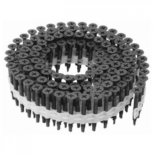 Coil Magazinschrauben 3,5×25 PS Schnellbauschrauben mit Bohrspitze PH2