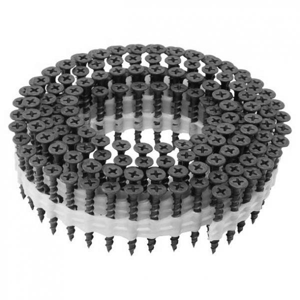 Coil Magazinschrauben 3,9×25 PS Schnellbauschrauben mit Grobgewinde PH2