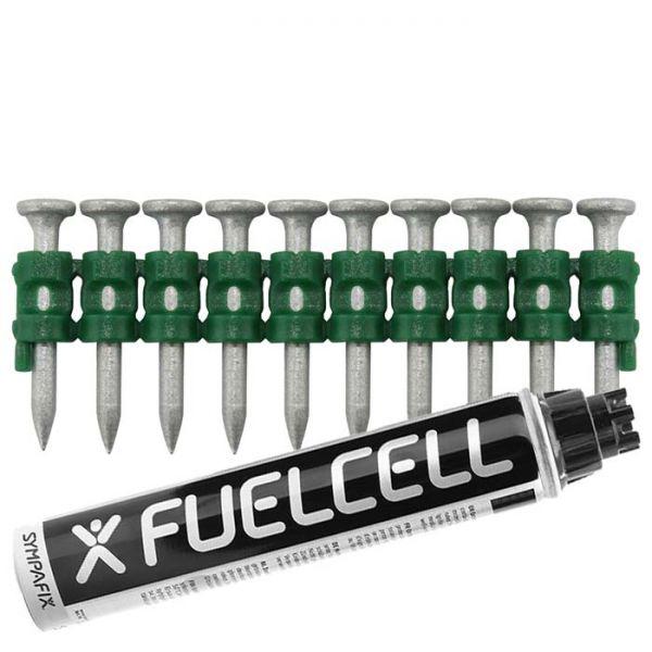 Fuel Cell Pack Betonnägel C5-2,6×20 NK (Stahl/verzinkt) inkl. Gas