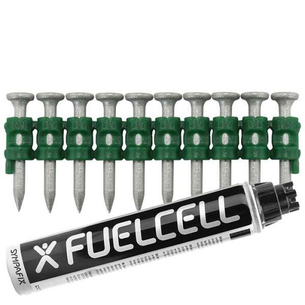 Fuel Cell Pack Betonnägel C5-2,6×25 NK (Stahl/verzinkt) inkl. Gas