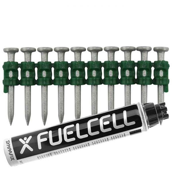 Fuel Cell Pack Betonnägel C5-2,6×30 NK (Stahl/verzinkt) inkl. Gas