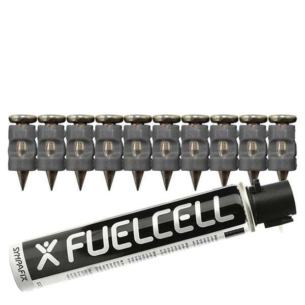 Fuel Cell Pack Betonnägel GT3C-2,6×13 NK (Stahl/verzinkt) inkl. Gas