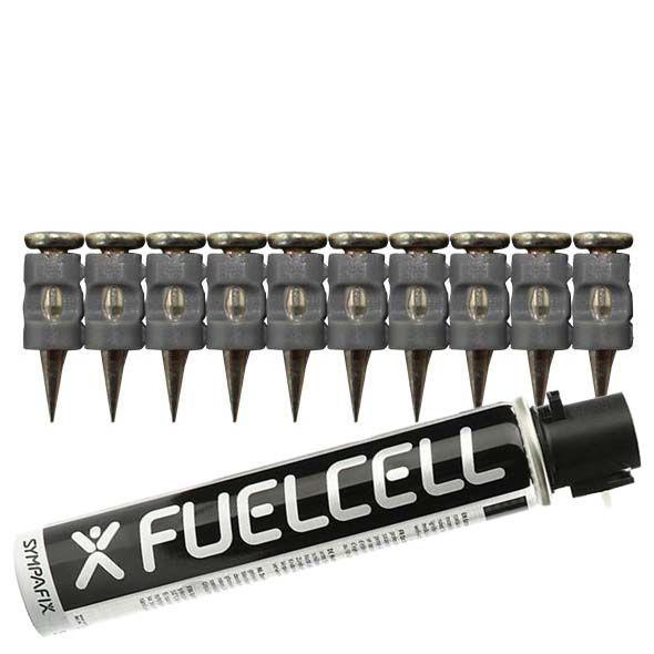 Fuel Cell Pack Betonnägel GT3C-2,6×19 NK (Stahl/verzinkt) inkl. Gas