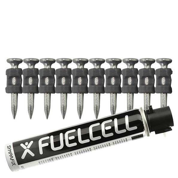 Fuel Cell Pack Betonnägel GT3C-2,6×22 NK (Stahl/verzinkt) inkl. Gas