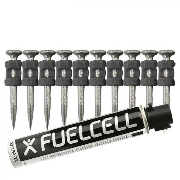 Fuel Cell Pack Betonnägel GT3C-2,6×32 NK (Stahl/verzinkt) inkl. Gas