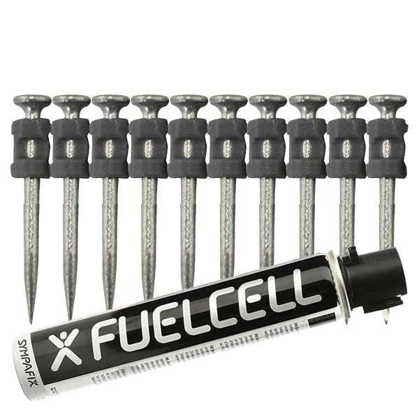 Fuel Cell Pack Betonnägel GT3C-2,6×38 NK (Stahl/verzinkt) inkl. Gas