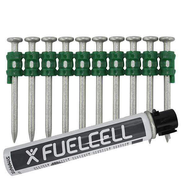 Fuel Cell Pack Betonnägel GT4C-2,6×40 NK (Stahl/verzinkt) inkl. Gas