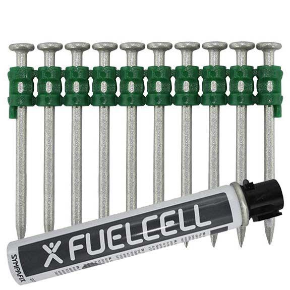 Fuel Cell Pack Betonnägel GT4C-2,6×55 NK (Stahl/verzinkt) inkl. Gas