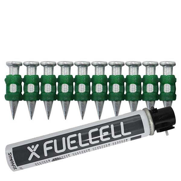Fuel Cell Pack Betonnägel GT4C-3,7×20 HD NK (Extra harter Stahl/verzinkt) inkl. Gas