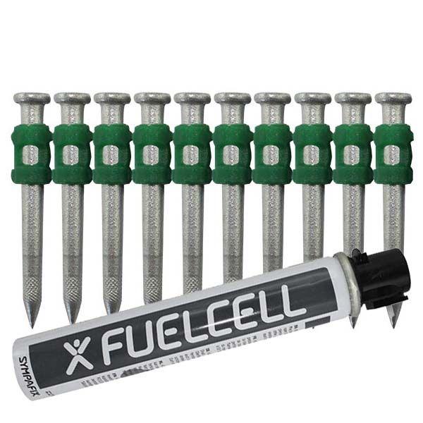 Fuel Cell Pack Betonnägel GT4C-3,7×40 HD NK (Extra harter Stahl/verzinkt) inkl. Gas