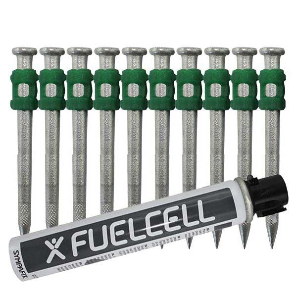 Fuel Cell Pack Betonnägel GT4C-3,7×50 HD NK (Extra harter Stahl/verzinkt) inkl. Gas