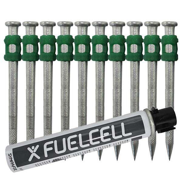 Fuel Cell Pack Betonnägel GT4C-3,7×55 HD NK (Extra harter Stahl/verzinkt) inkl. Gas