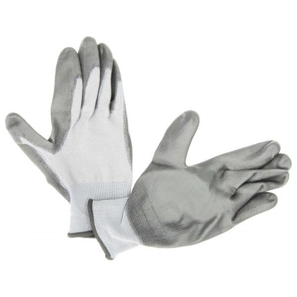 Handschuh Latex grau/grau Größe 9