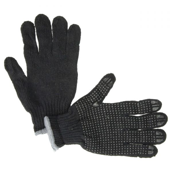 Handschuh Nylon PVC Schwarze Punkte Größe 8