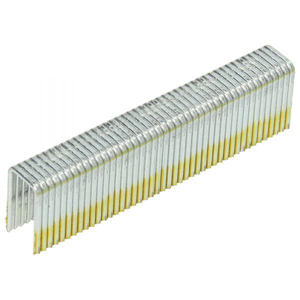 Heftklammern G 5562/25 C/D NK HZ (Stahl/verzinkt geharzt, Kombi-Anschnitt Meißel-/Sägespitze)