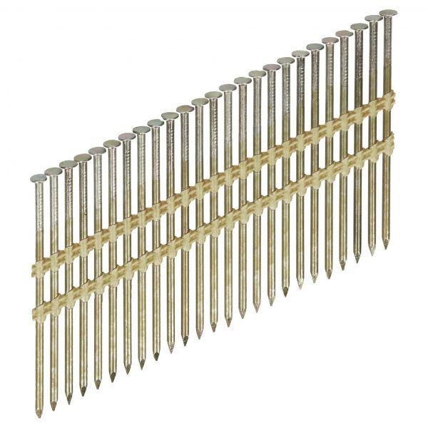 Streifennägel ST 20° 4,2×160 BK (Stahl/blank)