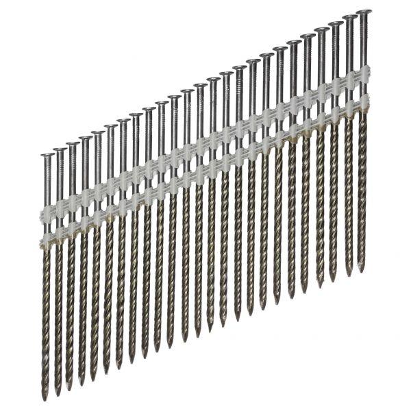 Streifennägel ST 20° 4,6×160 NK Schraub (Stahl/verzinkt)