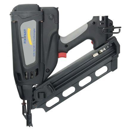 FixFast Streifennagler GSN 34/100 V1 Gasnagler von 63 - 100 mm | Typ ST 34°
